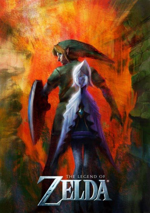 Artwork de The Legend of Zelda para Wii